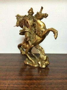 guan  gong on the horse